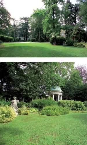 giardino di Palazzo Attems Santacroce-Ritter, ora Municipio, Gorizia (Go)