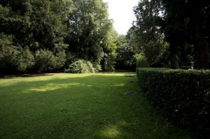 il giardino di villa Elodia