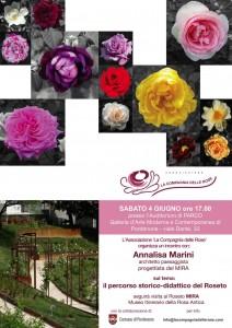 Locandina Incontro con 'Architetto Annalisa Marini