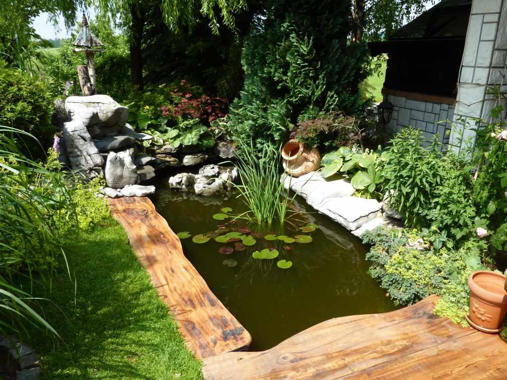 Visita ad alcuni giardini in slovenia parte 3 amici in for Immagini di laghetti artificiali