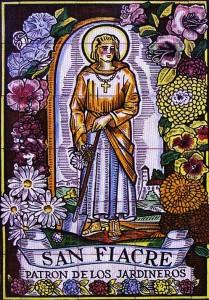 Saint Fiacre il patrono dei giardinieri