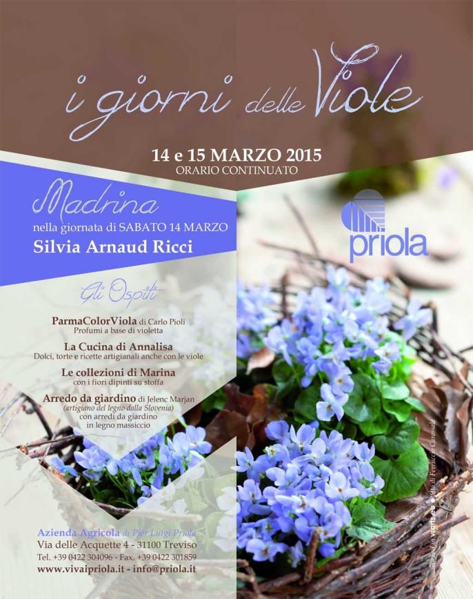 locandina i giorni delle viole al vivaio priolamarzo 2015