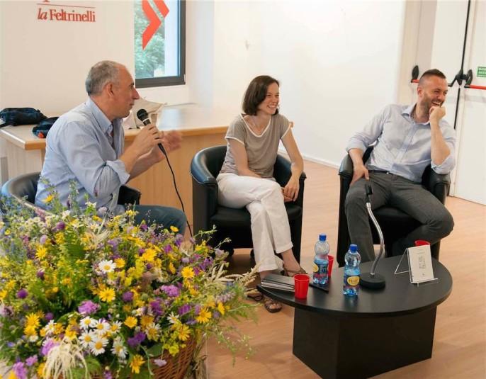 Daniele Mongera, Elisa Tomat e  Matteo La Civita